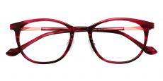 Midway Oval Prescription Glasses - Purple
