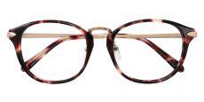 Morgan Oval Prescription Glasses - Floral