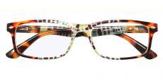 Elfrida Rectangle Prescription Glasses - Floral