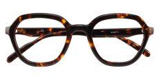 Mandarin Geometric Prescription Glasses - Tortoise