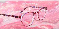 Harmony Oval Prescription Glasses - Purple