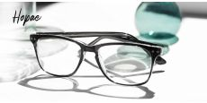 Hope Oval Blue Light Blocking Glasses - Black