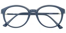 Asia Round Prescription Glasses - Black