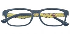 Charlie Rectangle Prescription Glasses - Black