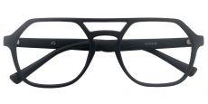 Quinn Aviator Prescription Glasses - Black