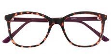 Halpin Classic Square Prescription Glasses - Tortoise