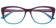 Simone Cat-Eye Prescription Glasses - Purple