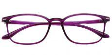 Cabo Oval Prescription Glasses -   Grape