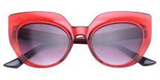 Starlight Cat Eye Red Non-Rx Sunglasses