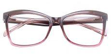 Lexi Cat Eye Prescription Glasses - Brown