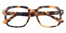 Celadon Square Prescription Glasses - Tortoise