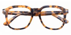 Whaley Square Prescription Glasses - Tortoise
