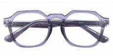 Bisbee Geometric Prescription Glasses - Gray