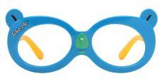 Tito Oval Single Vision Glasses - Blue