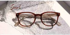 Swirl Classic Square Progressive Glasses - Brown
