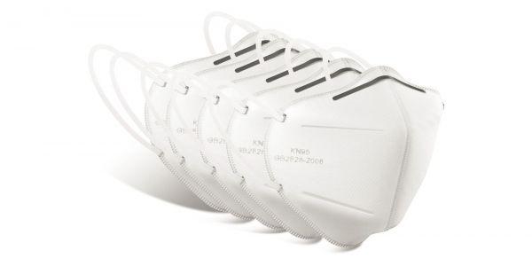 5 Pcs FFP2 Respirator eyeglasses