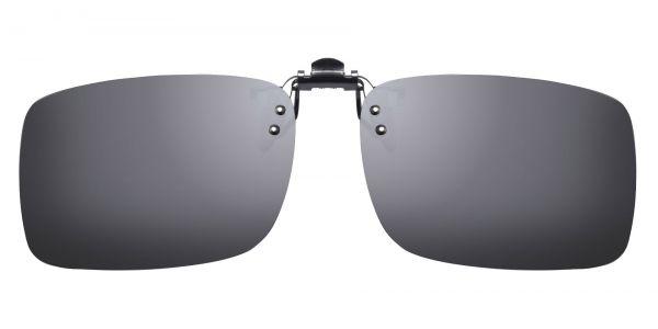 Polarized Flip up Clip ons - Rectangle eyeglasses