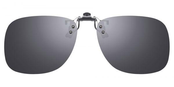 Polarized Flip up Clip ons - Oval eyeglasses