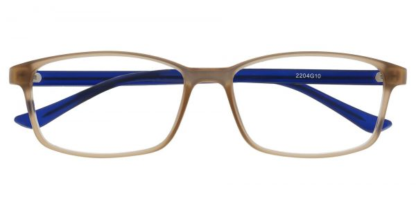 Lotus Rectangle Prescription Glasses - Gray