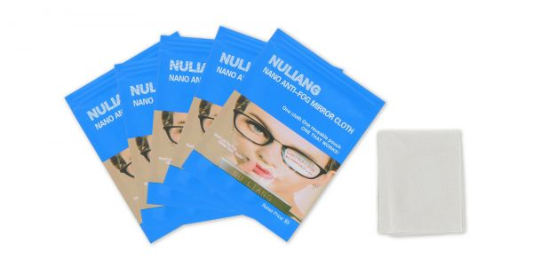 Five Advanced Nano Anti-Fog Lens Cleaner eyeglasses
