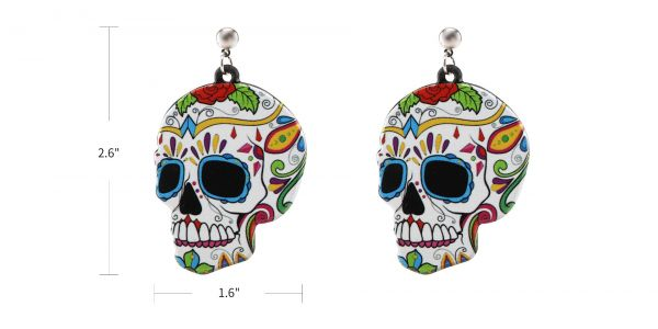 Sugar Skull Earrings eyeglasses