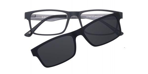Zuma Rectangle Eyeglasses For Men