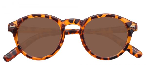 Vee Round Men's Prescription Sunglasses