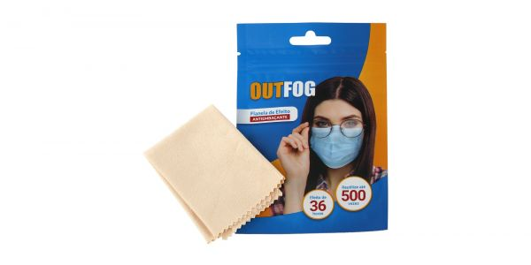One Anti-Fog Cloth eyeglasses