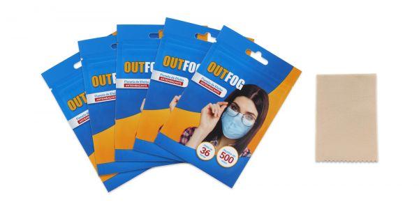 Five Anti-Fog Cloth eyeglasses