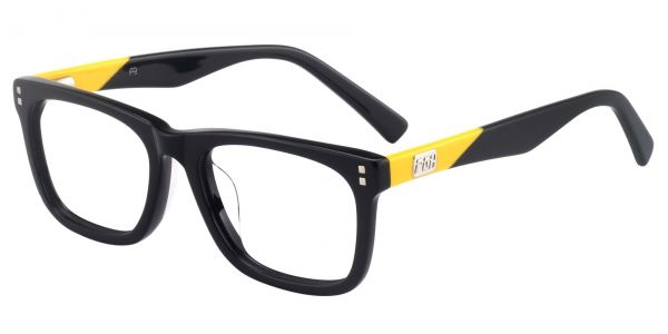 Liberty Rectangle Prescription Glasses - Black
