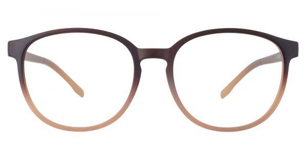 Molasses Oval Prescription Glasses - Brown
