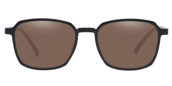 Stella Square Prescription Glasses - Black-1