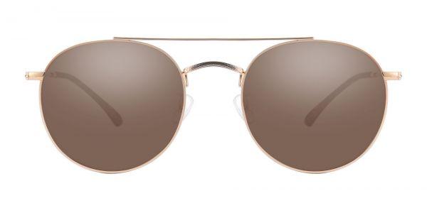 Malik Aviator Prescription Glasses - Gold-1
