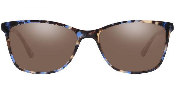 Antonia Square Prescription Glasses - Black
