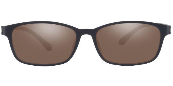 Poplar Rectangle Prescription Glasses - Black