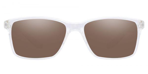 Berlin Rectangle Prescription Glasses - Clear-1