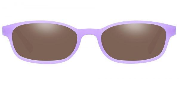 Kia Oval Prescription Glasses - Purple-2