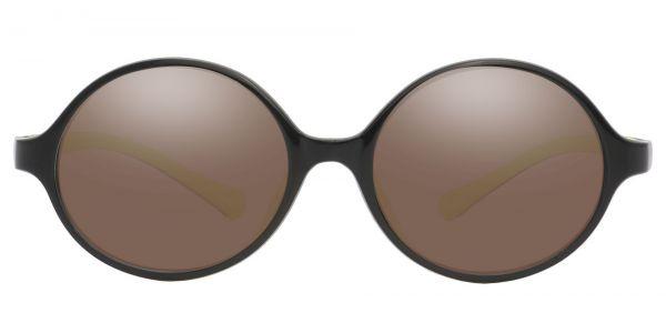 Dagwood Round Prescription Glasses - Black-1