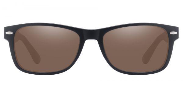 Kent Rectangle Prescription Glasses - Black-1