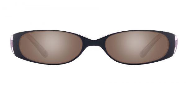 Venetia Oval Prescription Glasses - Purple-1