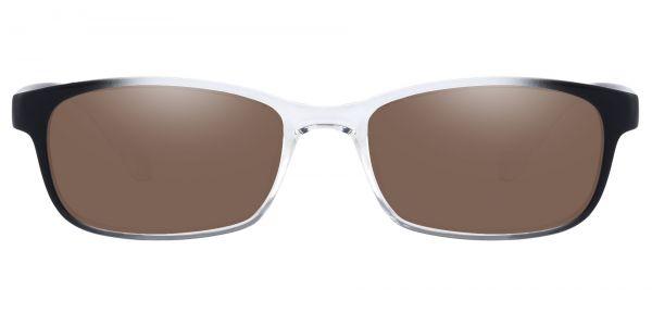 Amos Rectangle Prescription Glasses - Clear-2