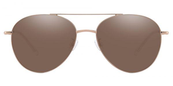 Hopper Aviator Prescription Glasses - Gold