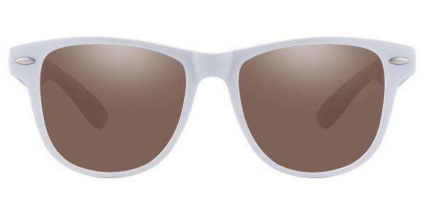 Radio Square Prescription Glasses - White-2