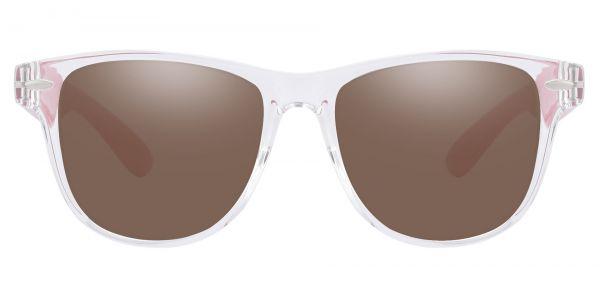 Radio Square Prescription Glasses - Clear-2