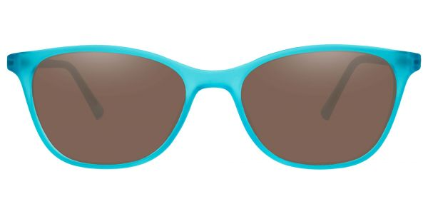 Sasha Cat Eye Prescription Glasses - Blue