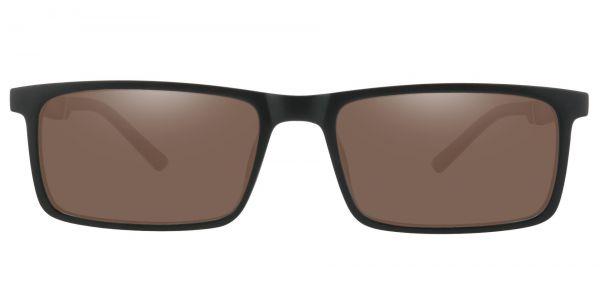 Ronan Rectangle Prescription Glasses - Black