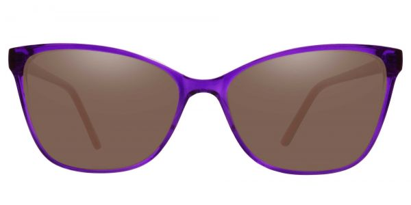 Brynn Cat Eye Prescription Glasses - Purple