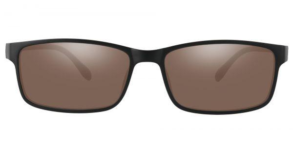 Candice Rectangle Prescription Glasses - Black