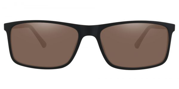 Montana Rectangle Prescription Glasses - Black