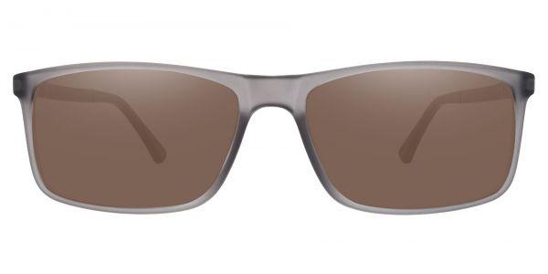 Montana Rectangle Prescription Glasses - Gray